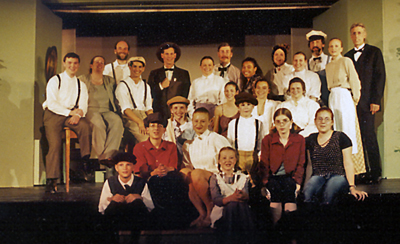 Our Town cast photo