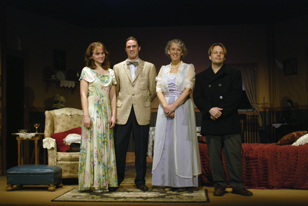 The Glass Menagerie cast photo