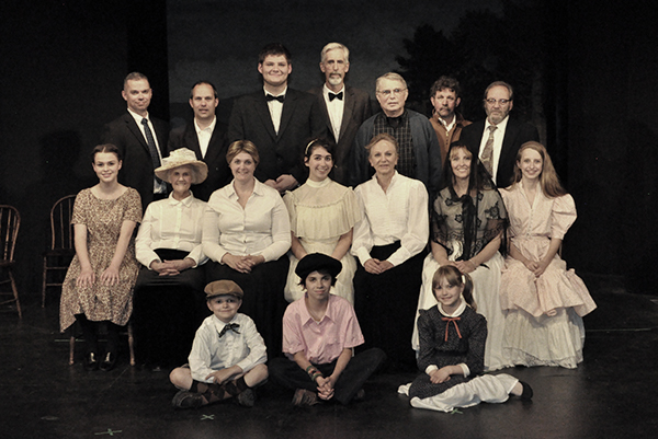 Our Town cast